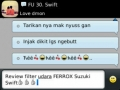 Ferrox Testi suzuki Swift